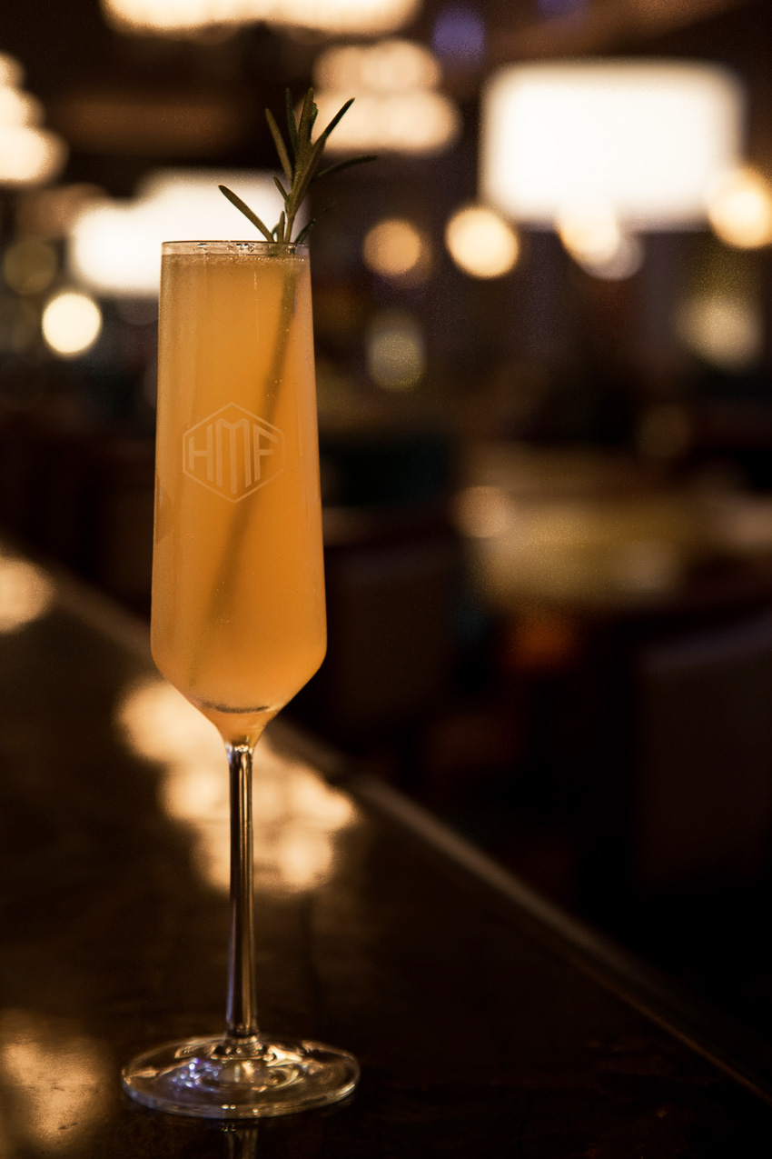Pink Grapefruit Fizz Signature Cocktail Drink Recipe from The Breakers Palm Beach