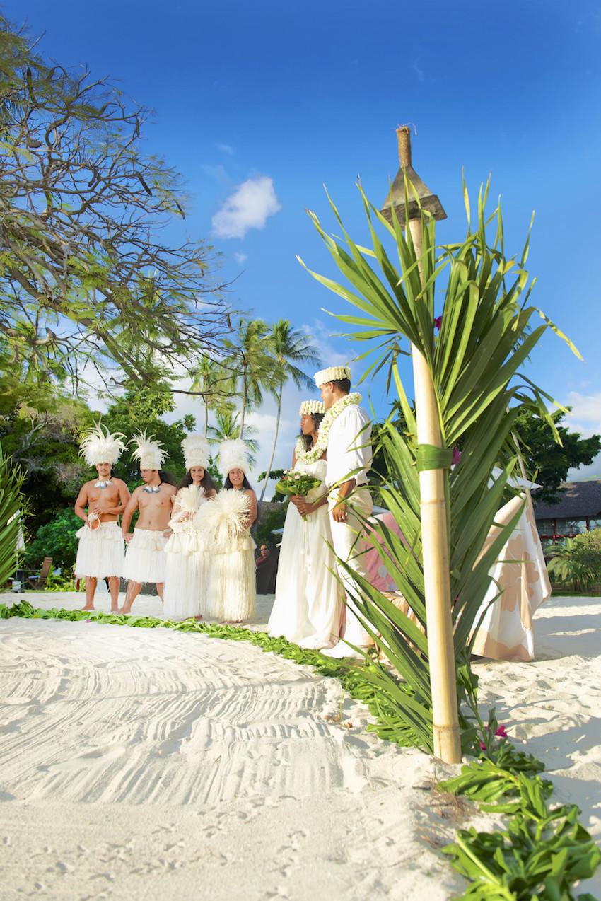 Le Méridien Tahiti Wedding Musicians