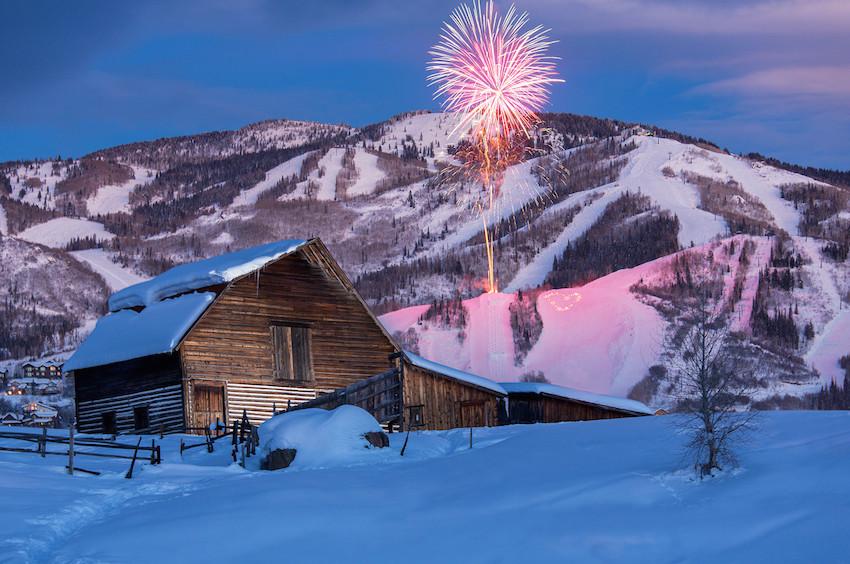 Sheraton Steamboat Resort Fireworks