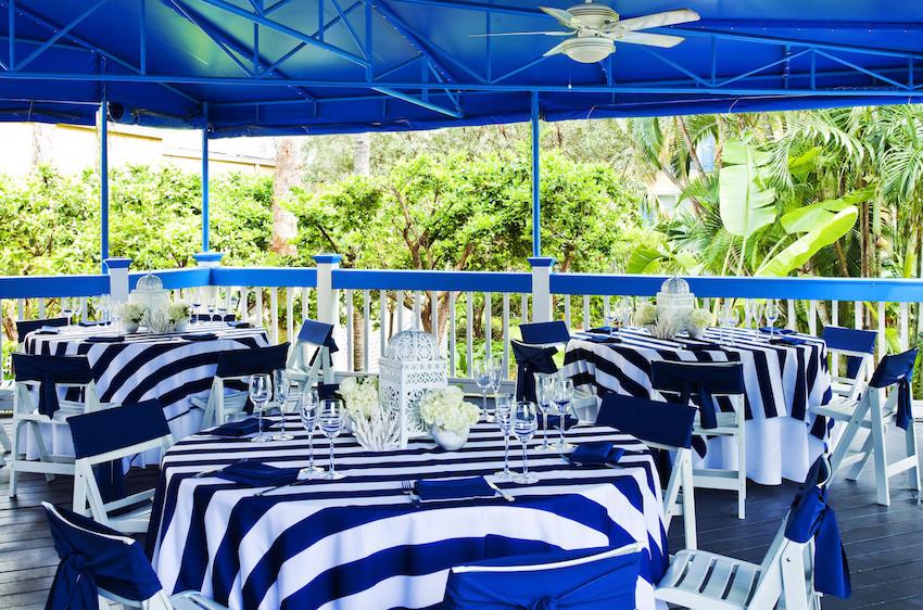Sheraton Suites Key West Reception Set Up