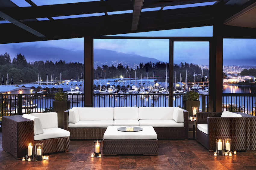 The Westin Bayshore, Vancouver Patio