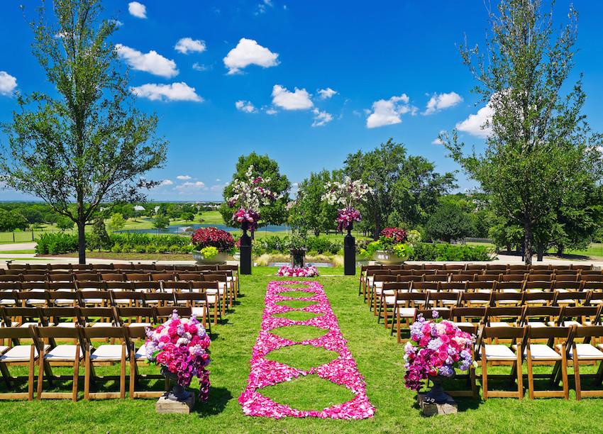The Westin Stonebriar Hotel - Terrace Garden Wedding
