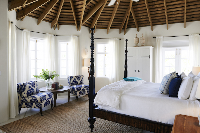 Kamalame Cay Bedroom in Bahamas