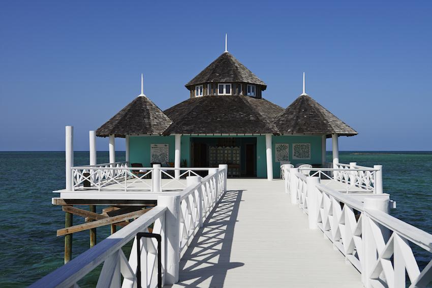 Kamalame Cay Spa over water villa