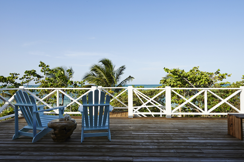 Kamalame Cay Beach Chair Ocean Look Out