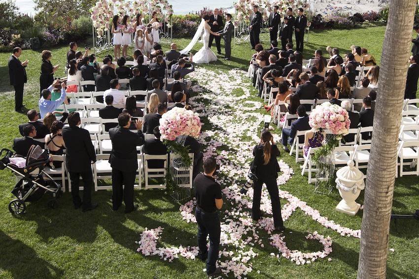 Outdoor Wedding Behind the Scenes