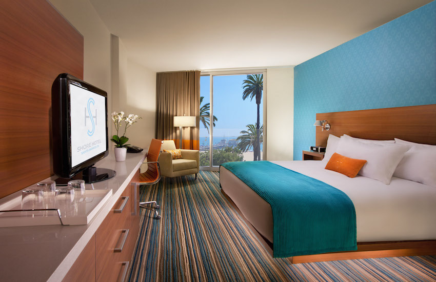Shore Hotel Interior Room with Beach View
