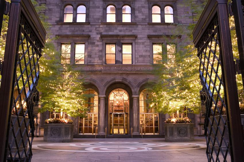 The New York Palace Exterior