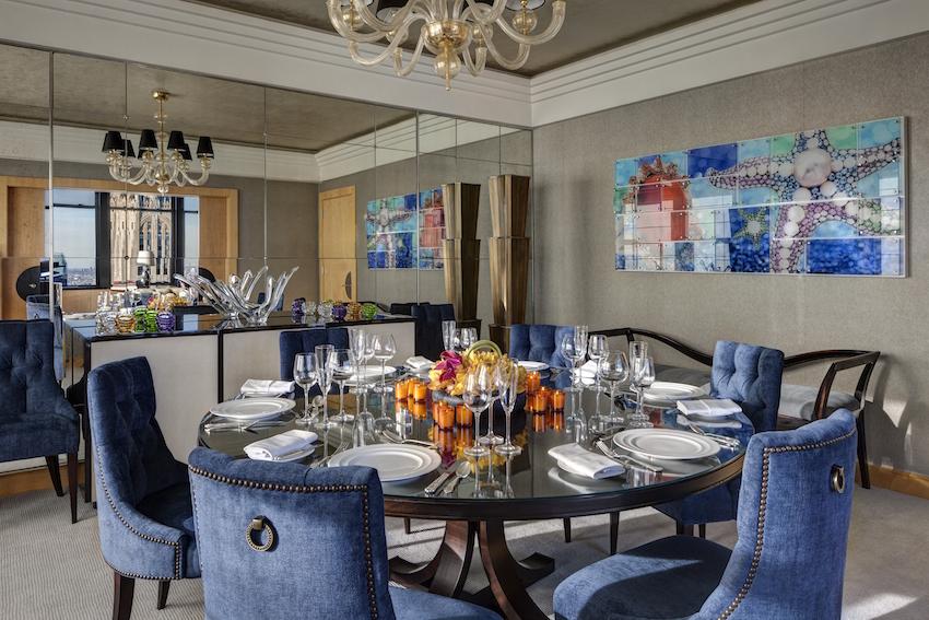 Jewel Suite New York Palace Dining Room