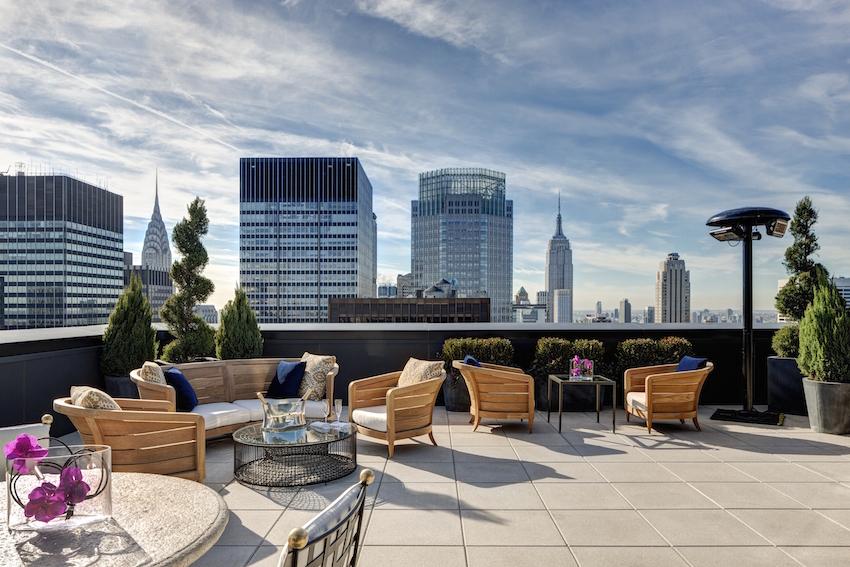 Jewel Suite Terrace New York Palace