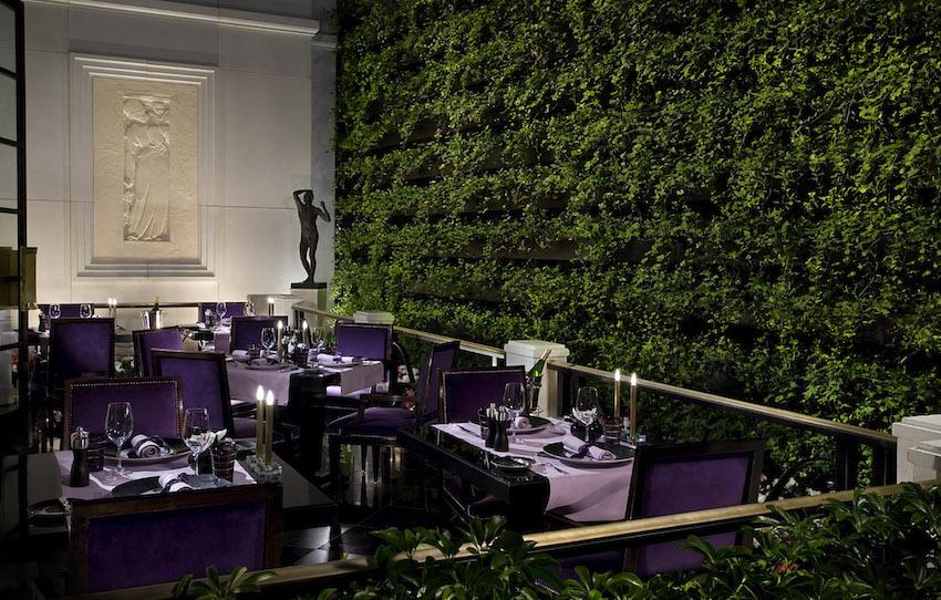 Joel Robuchon Restaurant Terrace