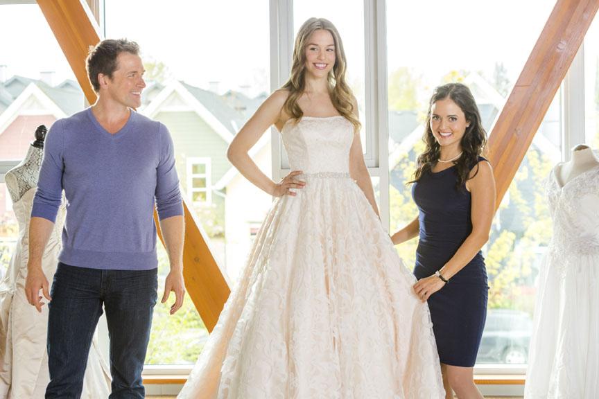 Mariage et téléfilms : la robe. 1