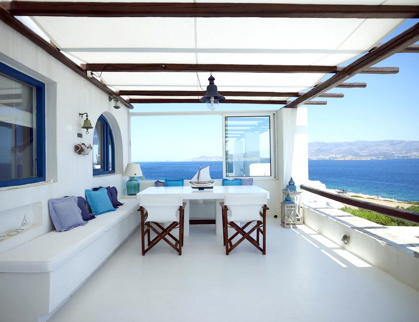 Terrace at Wedding Venue in Greece