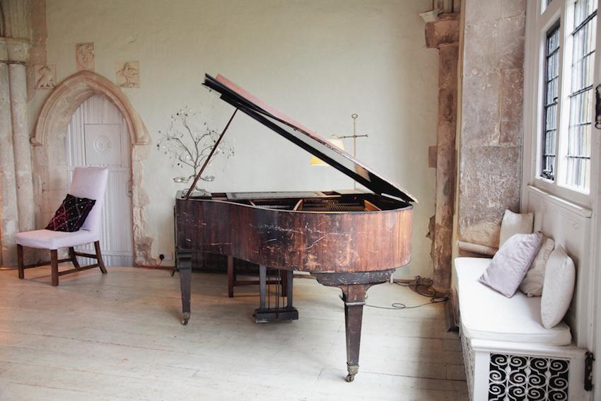 Suffolk England Wedding Venue Piano