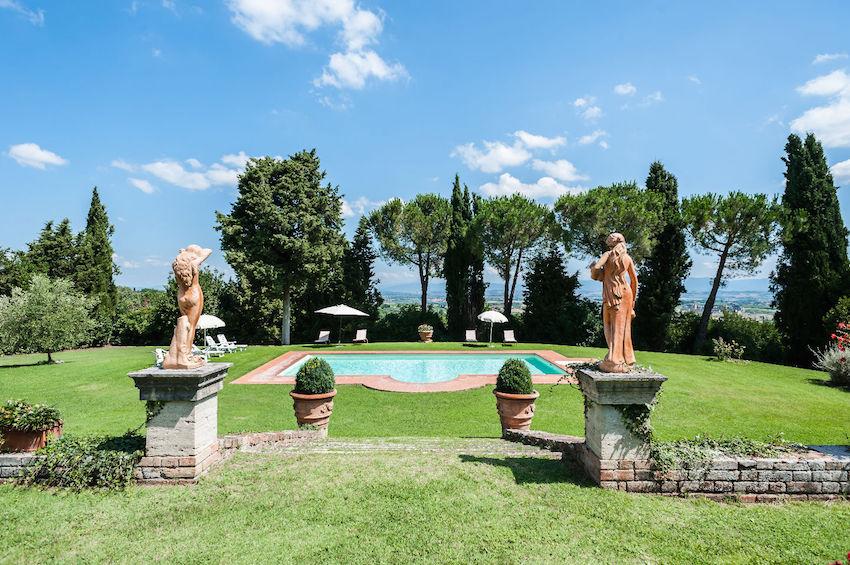 Montepulciano Italy Wedding Venue View