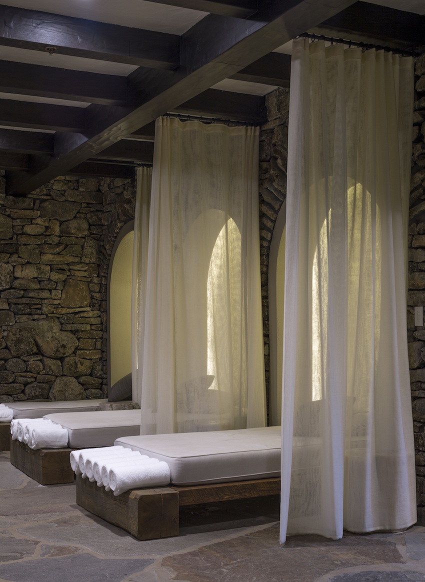 Big Cedar Lodge Spa Massage Tables
