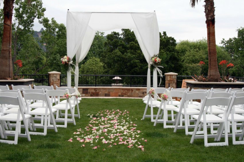 Westin Verasa Napa Outdoor Wedding