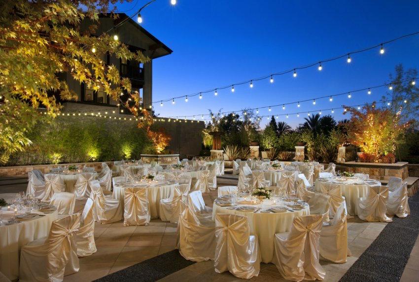 Westin Verasa Napa Courtyard Wedding