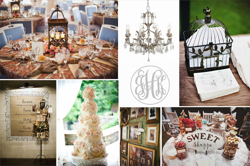 Vintage Wedding Ideas decor options