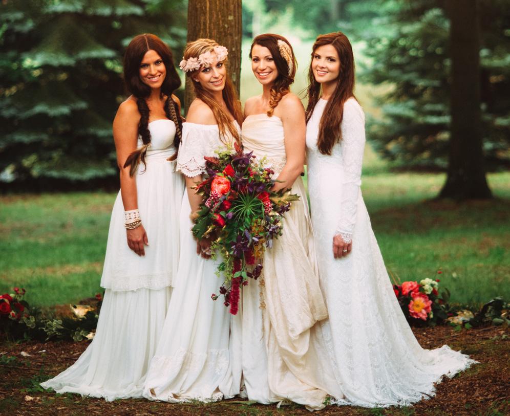 Boho Wedding Ideas For Celebrations Inspired By Nature,Sparkle Glitter Tulle Wedding Dress