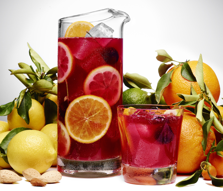 Amaretto Sangria with Ciroc vodka recipe