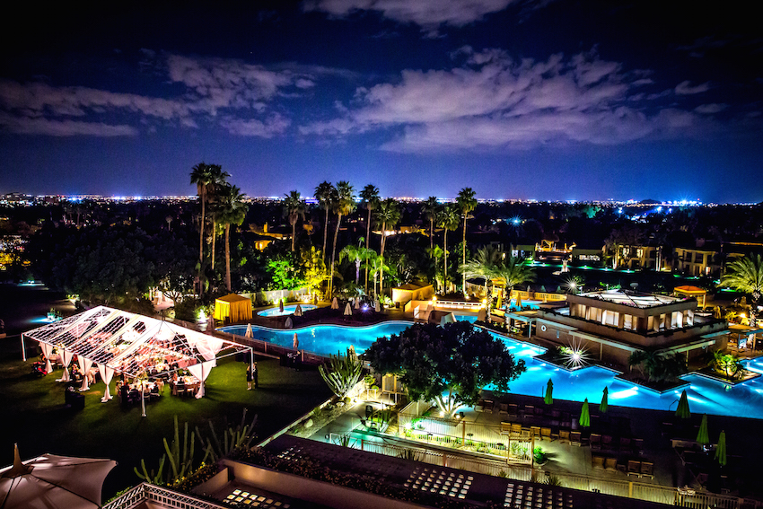 Night View of The Phoenician