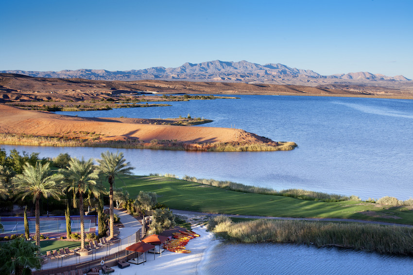 Landscape at Westin Lake Las Vegas