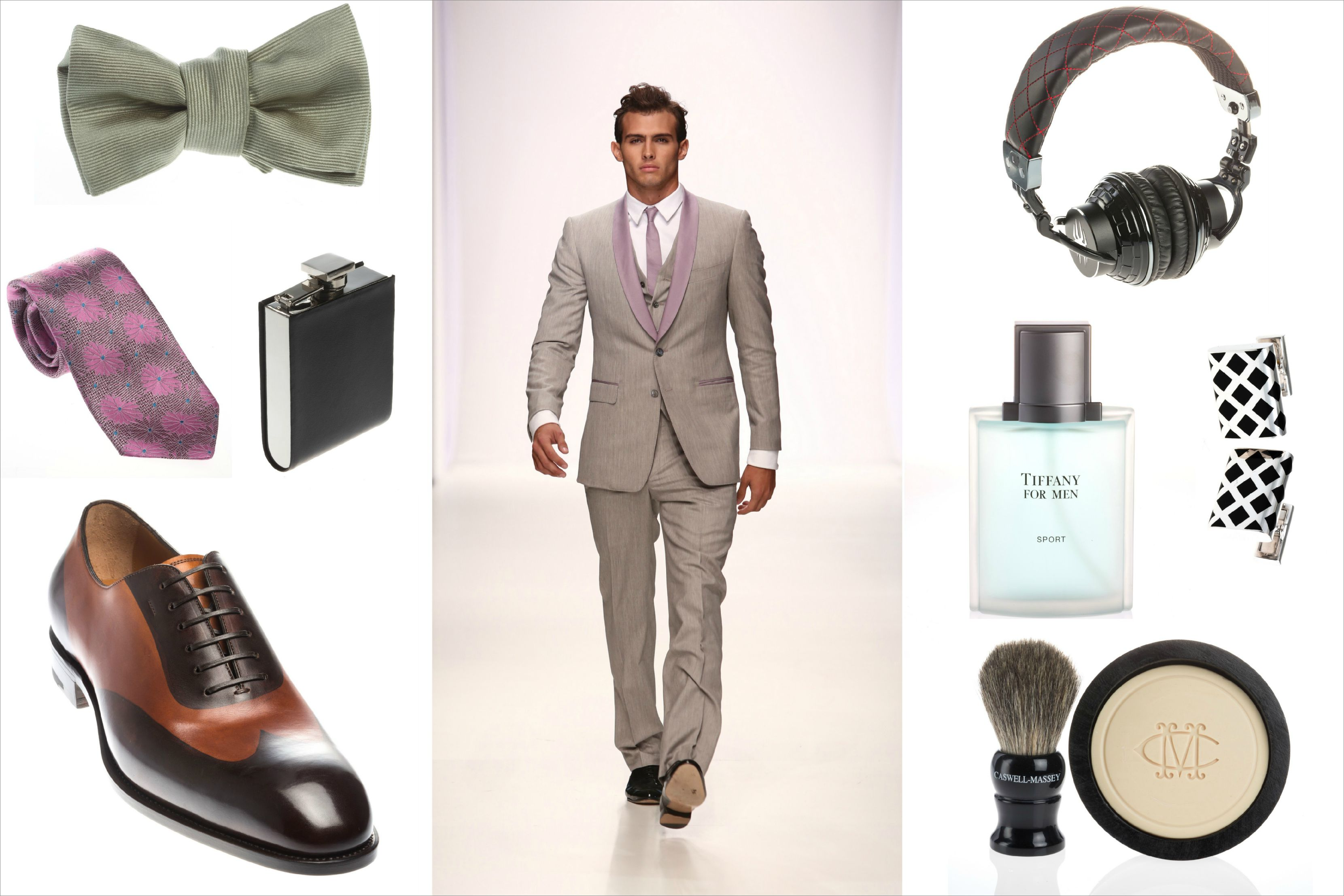 Ryan Reynolds Inspired Groom Outfit