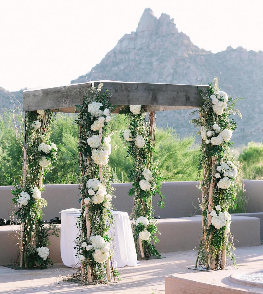 Adrianna Costa Arizona wedding ceremony
