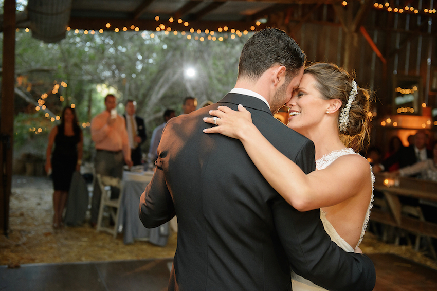 Melissa Claire Egan first dance