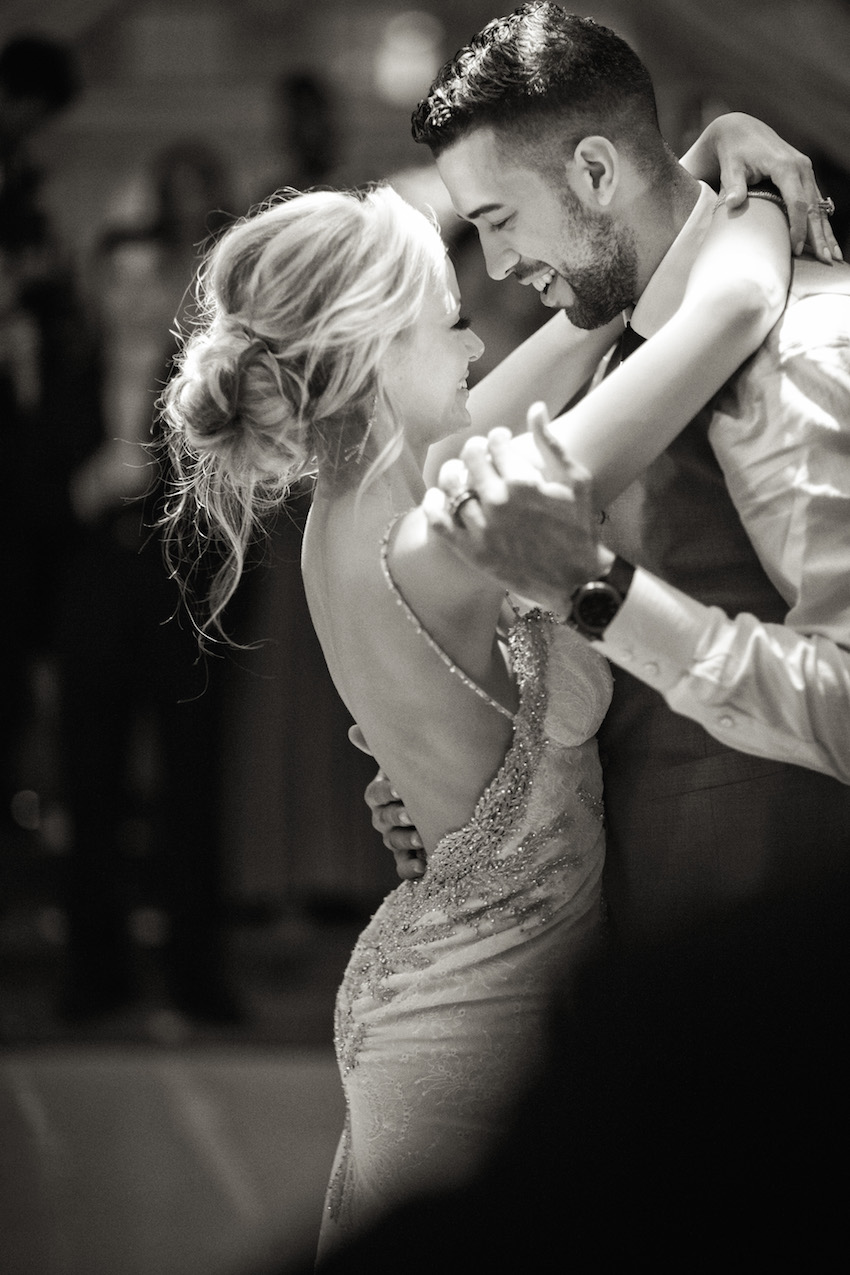 Landry Fields first dance with Elaine Alden