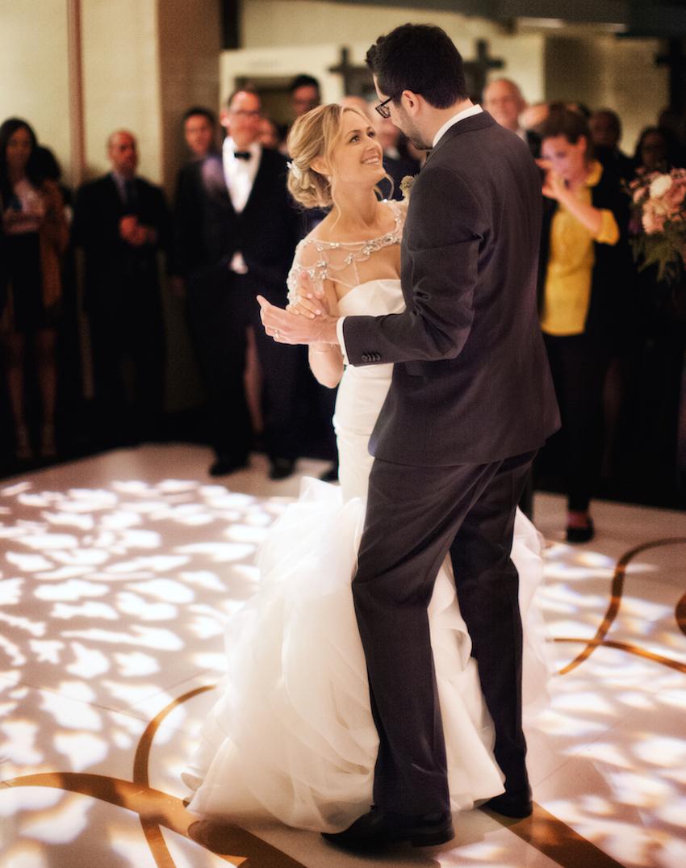 Malibu wedding couple first dance
