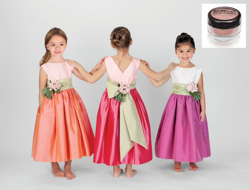 Reese Witherspoon flower girl dress