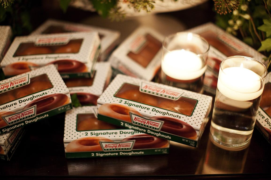 2-pack of Krispy Kreme doughnuts