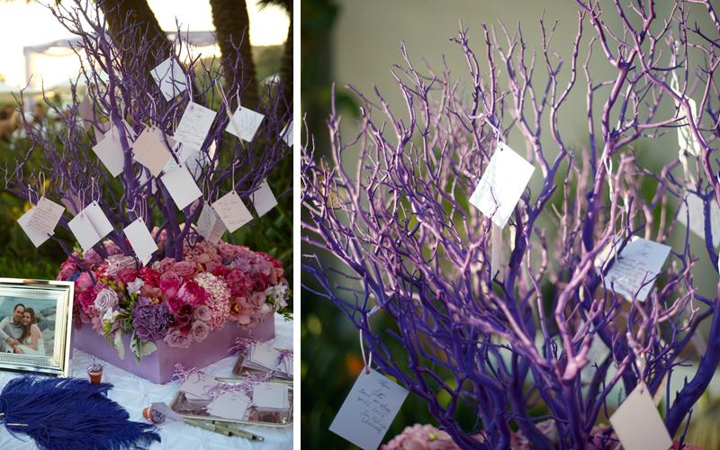purple wishing tree