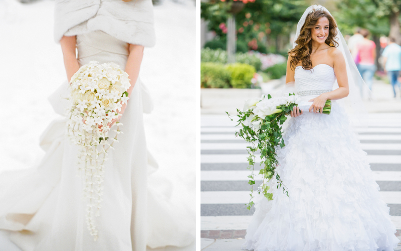The Bride S Guide To 7 Popular Types Of Wedding Bouquets