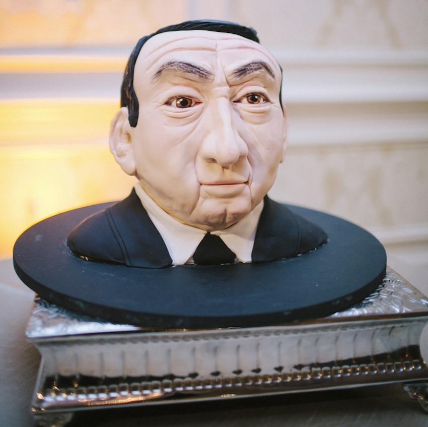 Duke coach Mike Krzyzewski wedding groom's cake