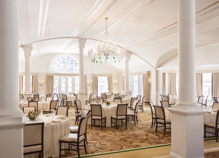 The Equinox Colonnade Ballroom wedding