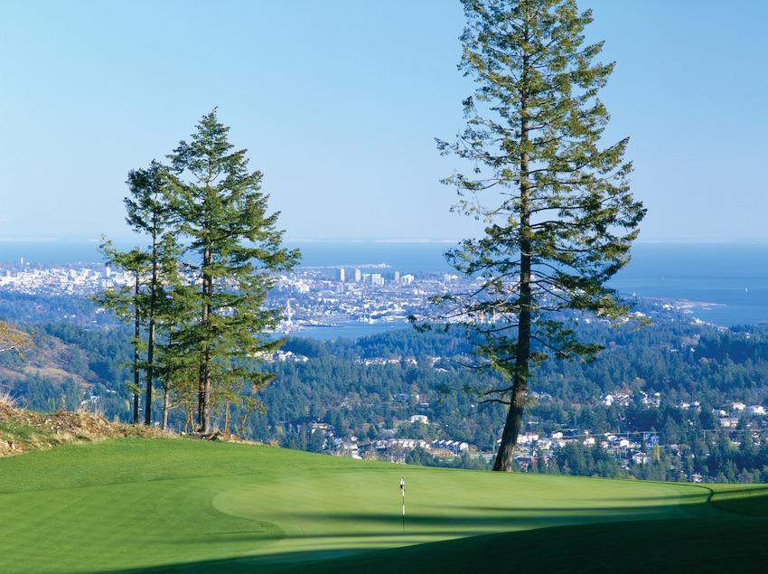 The Westin Bear Mountain Hole 14 golf course