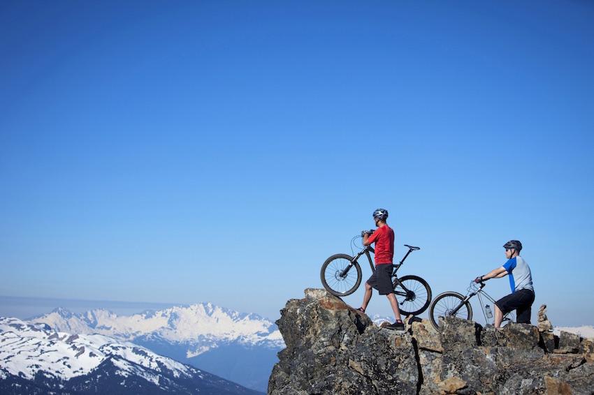 Mountain Biking at Westin Resort Whistler