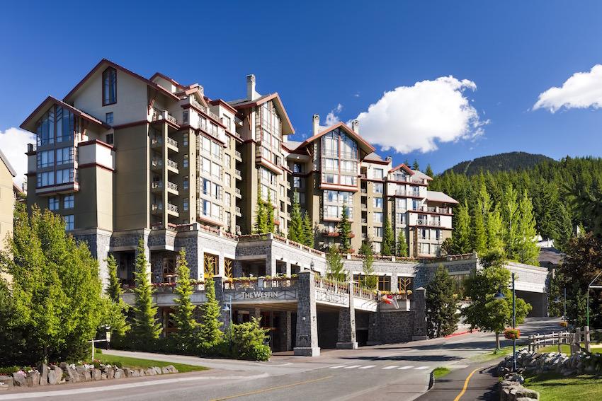 Westin Resort Whistler Summer Exterior