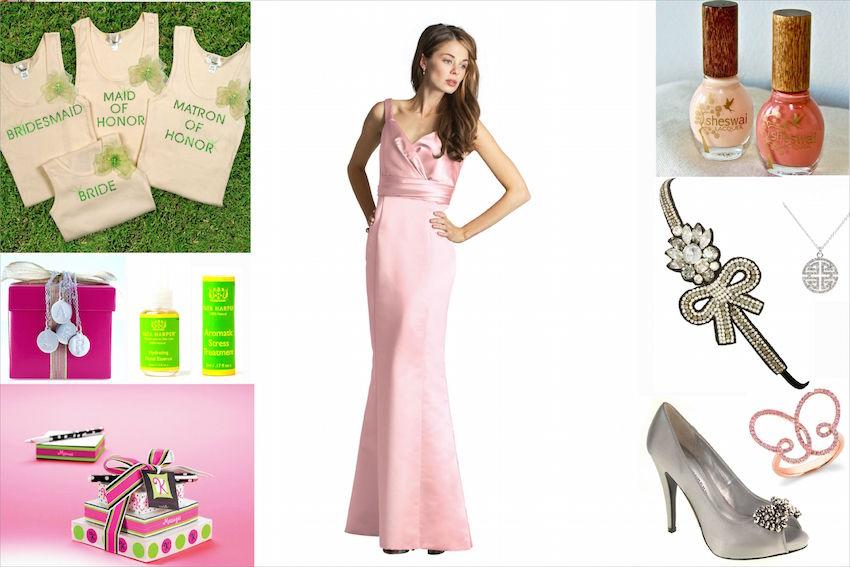 Carrie Underwood bridesmaids wedding ideas