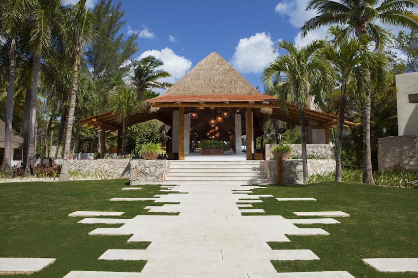 Mahekal Beach Resort lobby exterior