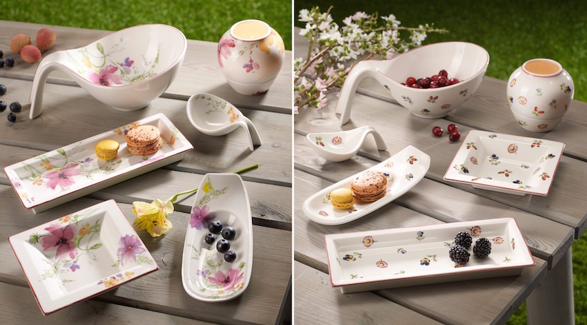 Villeroy & Boch Mariefleur and Petite Fleur collection