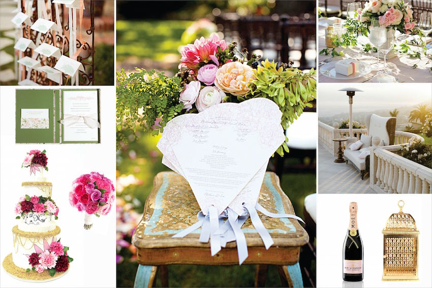 Drew Barrymore Wedding decor ideas