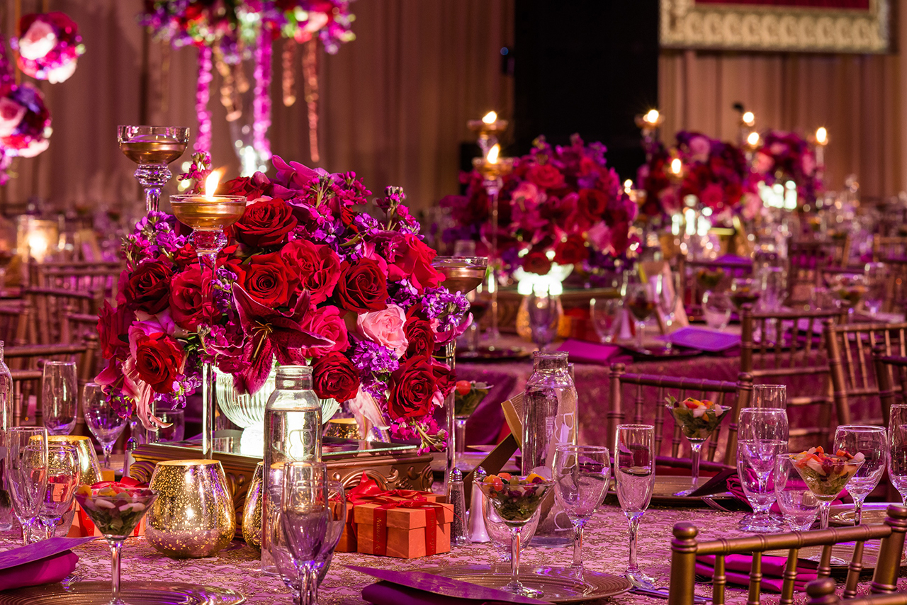 Festive Design Ideas for a Dramatic Fall Wedding