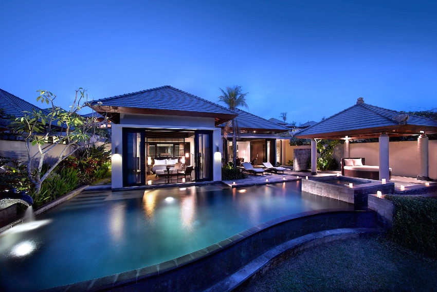Sea view ocean villa Banyan Tree Ungasan