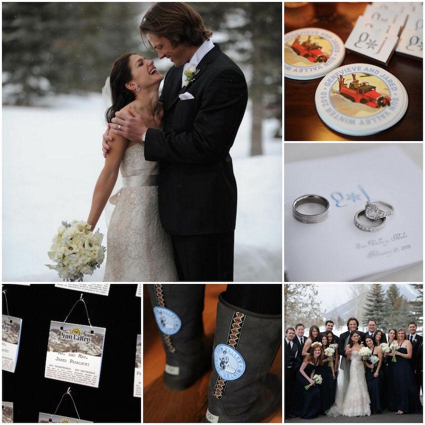 Jared Padalecki winter wedding ideas