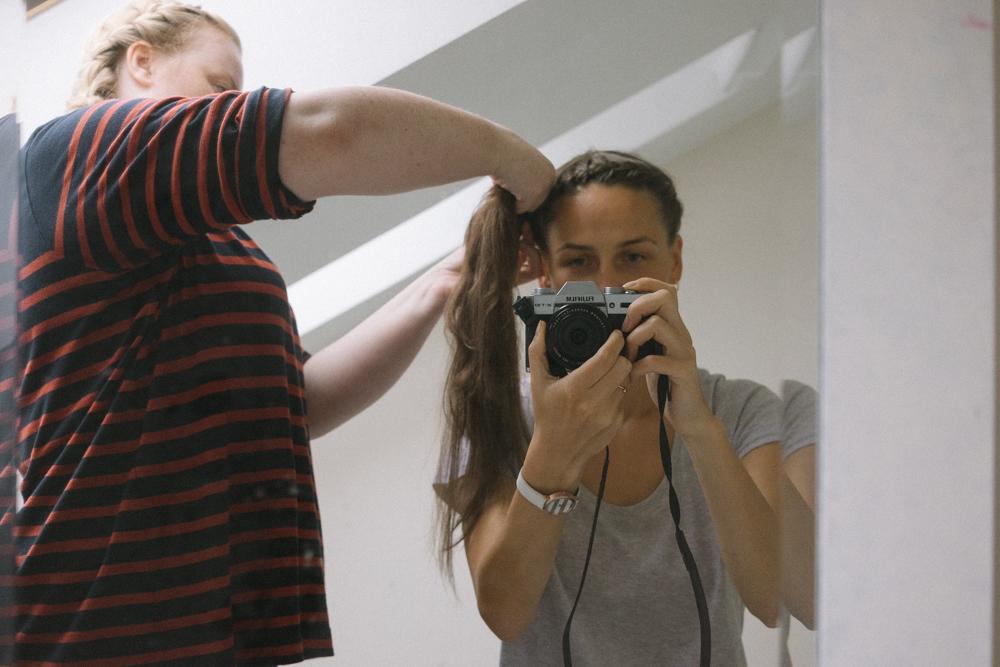 hair braided