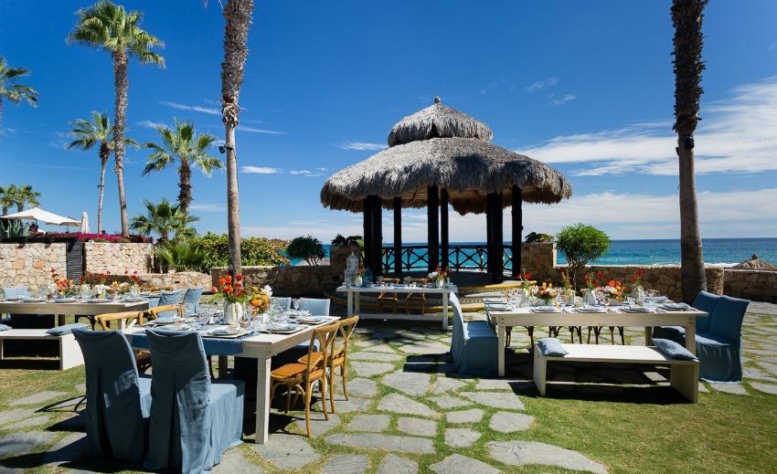 Sheraton Hacienda del Mar palapa wedding